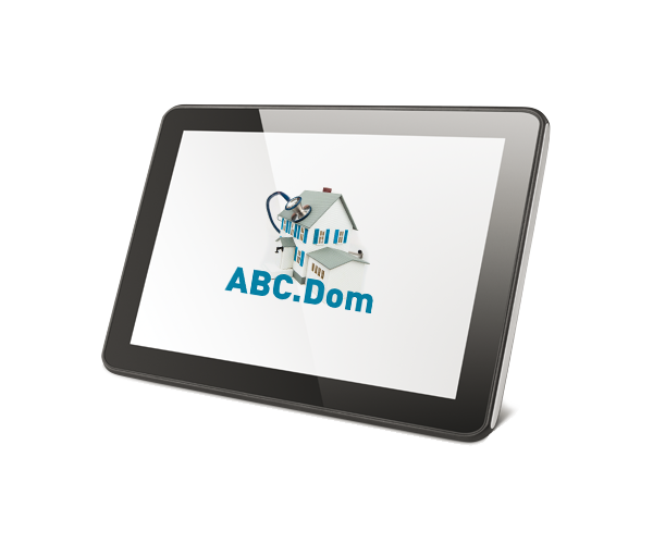 Schermata tablet ABC Dom
